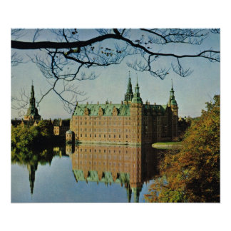 Kopiavintage Danmark, Hillerod slott Poster