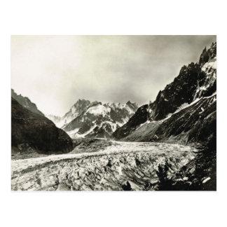 Kopiavintagefrankriken Chamonisx, Mont Blanc Vykort
