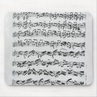 Kopiera av 'Partita i D-minderårigen för Violin Musmatta