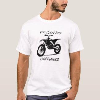 Köplycka - svart på vit t shirt