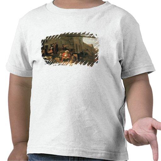 Köpmän från Holland och mellan östernhandeln Tee Shirt
