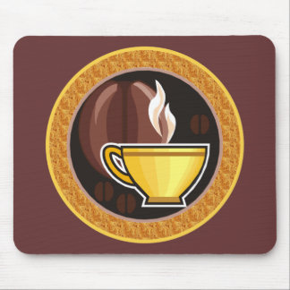 Kopp av kaffe musmatta