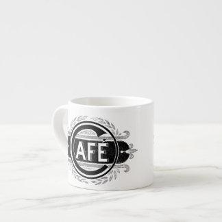 Kopp för art décoCafeespresso Espressomugg