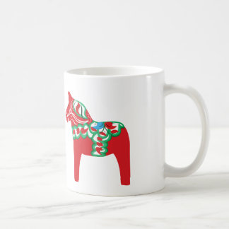 Kopp för Dala hästkaffe Vit Mugg