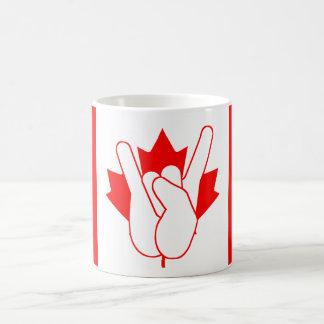 Kopp för Kanada stenkaffe Vit Mugg