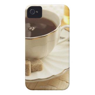 Koppar av kaffe och sugar. iPhone 4 Case-Mate case