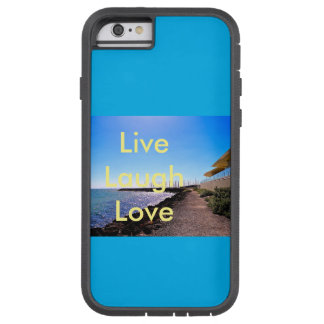 Koppla av längs strand tough xtreme iPhone 6 skal
