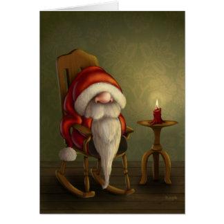 Koppla av Santa Hälsningskort
