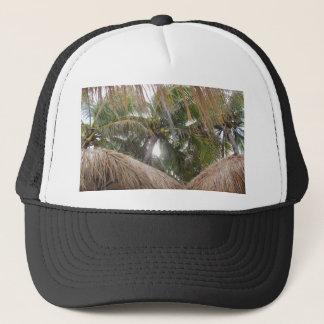 Koppla av under palmträden truckerkeps