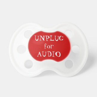 Koppla från för audio napp