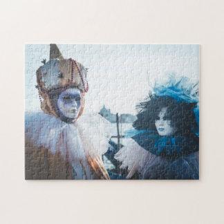 Koppla ihop av karneval maskerar i Venedig, Pussel