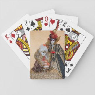 Koppla ihop i karnevaldräkten, Venedig Casinokort