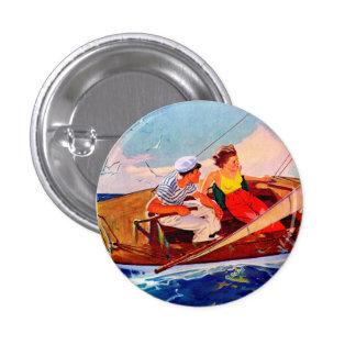 Koppla ihop seglingen av R.J. Cavaliere Mini Knapp Rund 3.2 Cm
