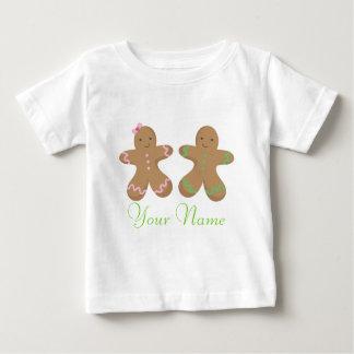 Koppla samman babyen för personligpepparkakakakan t-shirts