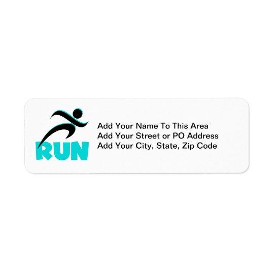 KÖR Aqua Returadress Etikett