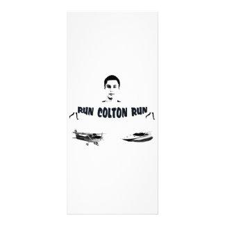 Kör den Colton springan Reklamkort 10 X 23 Cm