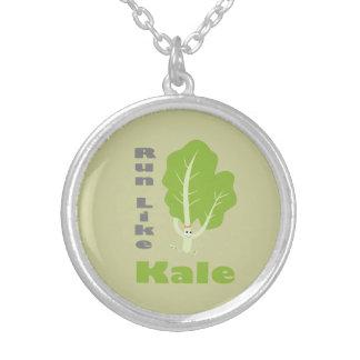 Kör lik Kale! Silverpläterat Halsband