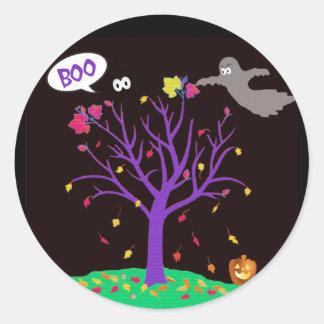 Kor-Sy Halloween klistermärkear Runt Klistermärke