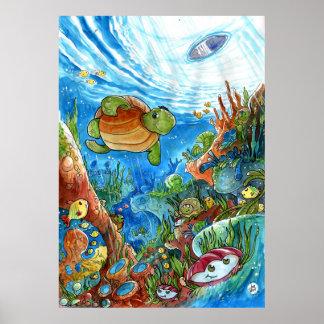 Koralldrömmar Poster