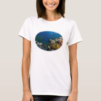 Korallhavskvinna skjorta för T T-shirts