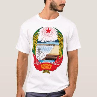 korea norr emblem tee shirt