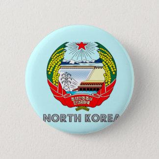 Koreansk Emblem Standard Knapp Rund 5.7 Cm