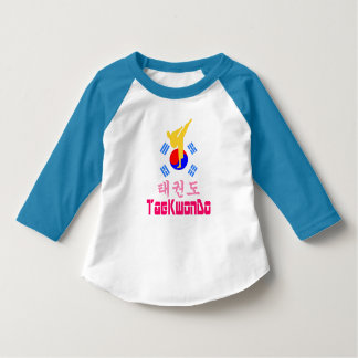 koreansk krigs- Konst-TaeKwonDo för ❤☯✔Love T Shirt
