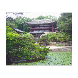 Koreansk plats canvastryck