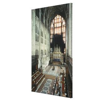 Kören och det östliga fönstret, 12:eårhundrade (fo canvastryck