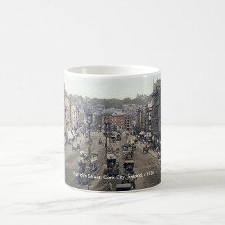 KorkstadsIrland mugg, vintagePatricks gata Kaffemugg