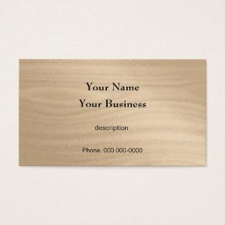 Korn för trä för snickarekonstruktionshandyman visitkort