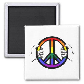 Körning av fred magnet