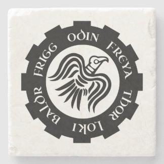 Korpsvart baner för Norse Stenunderlägg