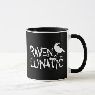 Korpsvart Lunatic svart kråka Mugg