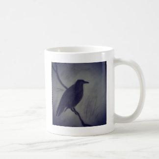 korpsvart vinter kaffemugg