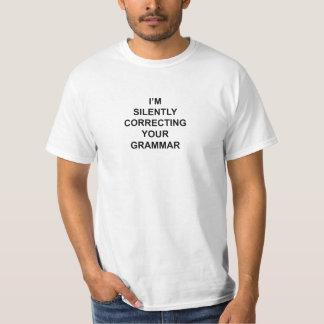 Korrigera din grammatik t shirts