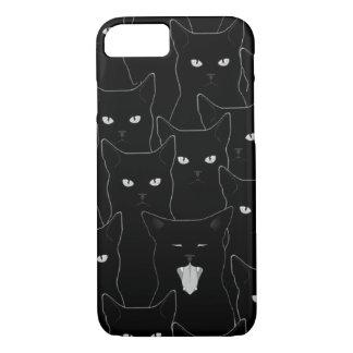 Korsa svart en katt väg