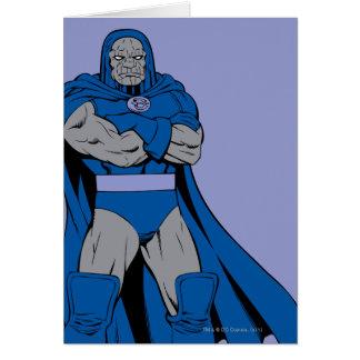 Korsad Darkseid ärmar Hälsningskort