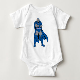 Korsad Darkseid ärmar Tee Shirt
