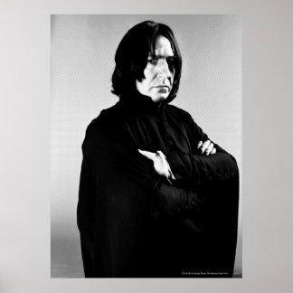 Korsad Severus Snape ärmar Poster