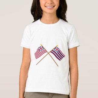 Korsad storslagen union- och brigantinLexington T Shirts