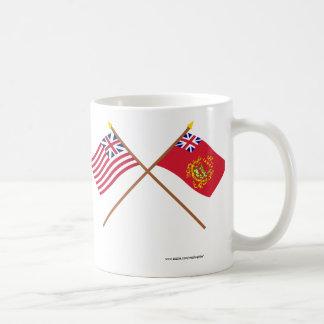 Korsad storslagen union- & proctors Batallion Kaffemugg