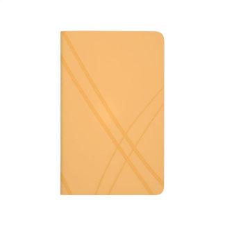 Korsade YellowOrange Crissed Anteckningsbok