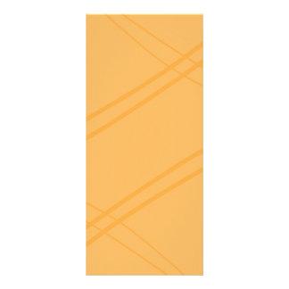 Korsade YellowOrange Crissed Reklamkort