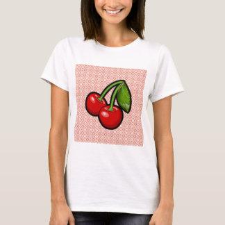 Körsbär på blomma t shirts