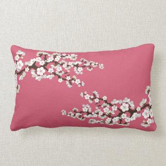 Körsbäret blomstrar den Sakura dekorativ kudde (ro