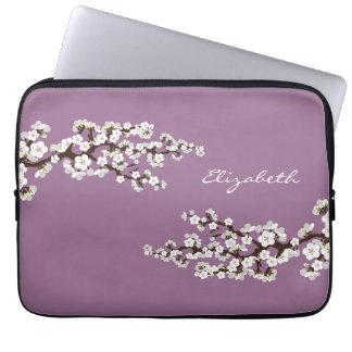Körsbäret blomstrar den Sakura laptop sleeve (lilo Datorfodral