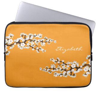 Körsbäret blomstrar den Sakura laptop sleeve (oran Laptop Datorfodral