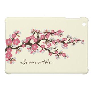 Körsbäret blomstrar det mini- fodral för Sakura iPad Mini Skal