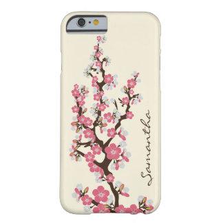 Körsbäret blomstrar fodral för iPhone 6 (rosor) Barely There iPhone 6 Skal